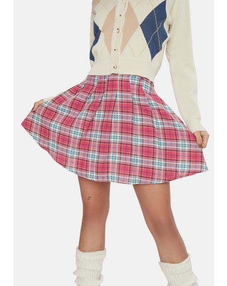 Emily Plaid Skirt