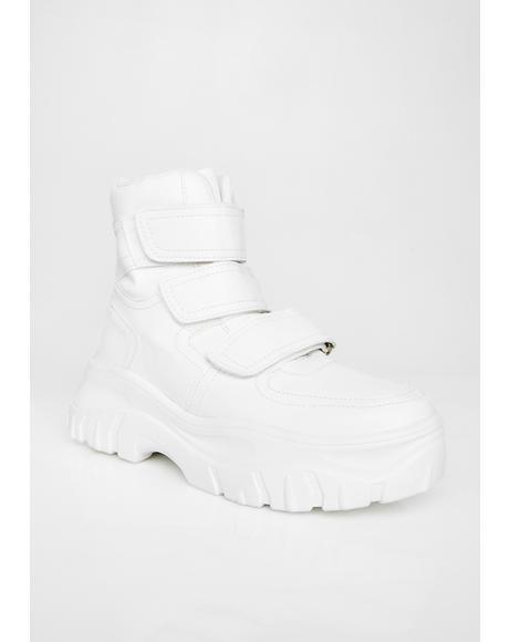 Icy Bae Velcro Sneakers