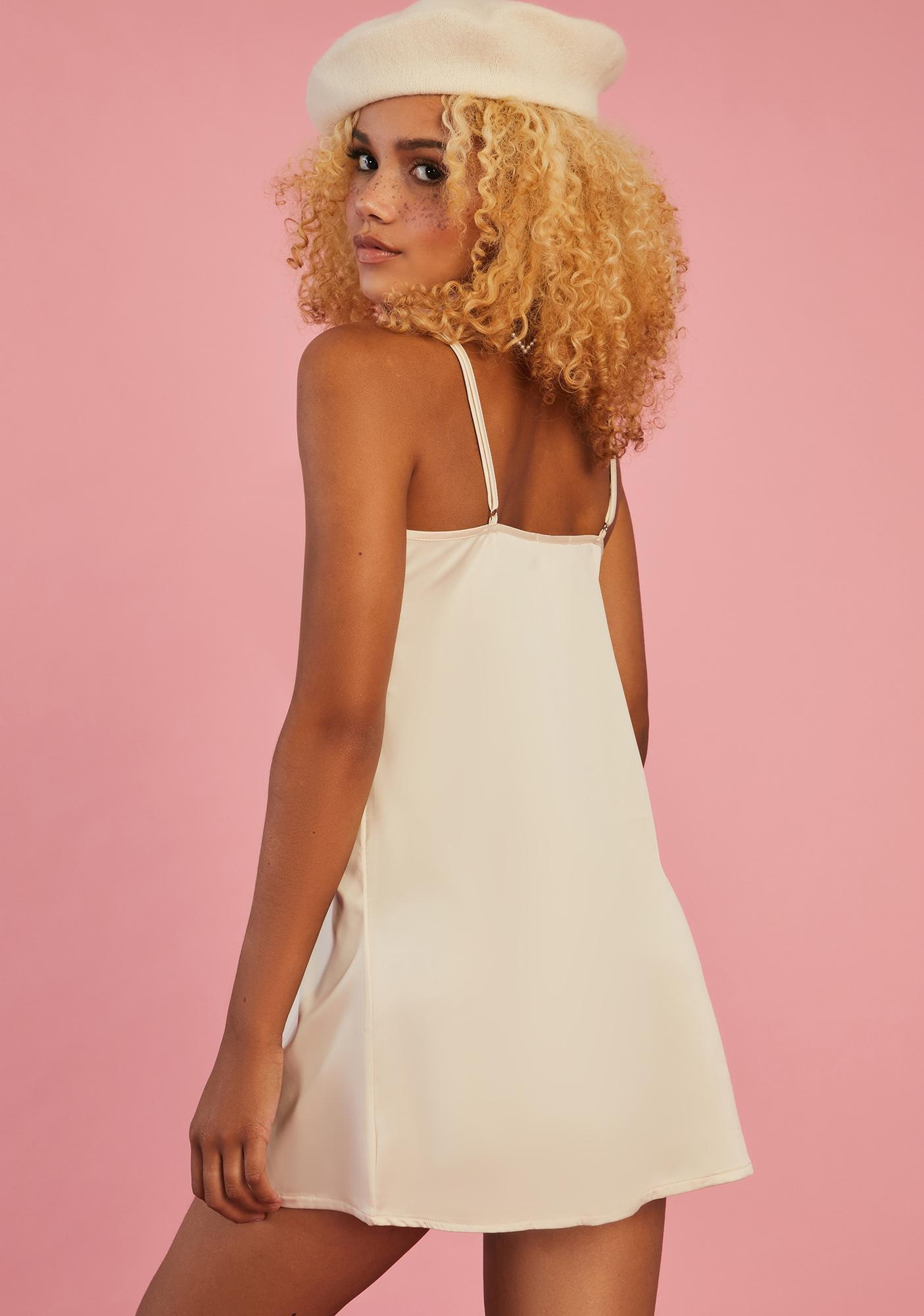 Sugar Thrillz Up With The Sun Slip Dress