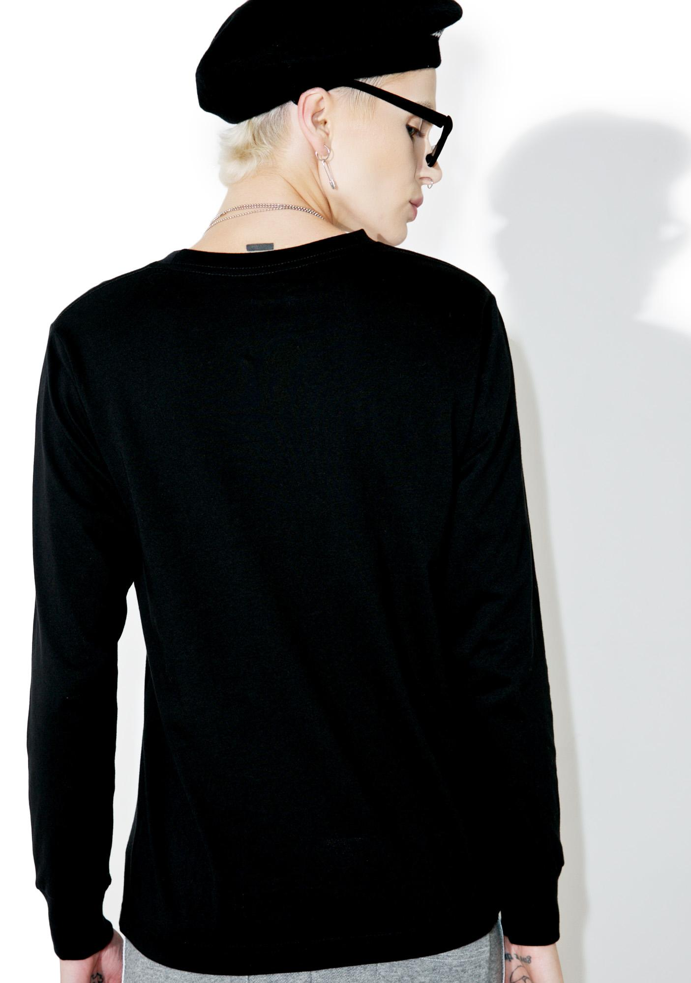 Stussy Rose Classic Long Sleeve Tee