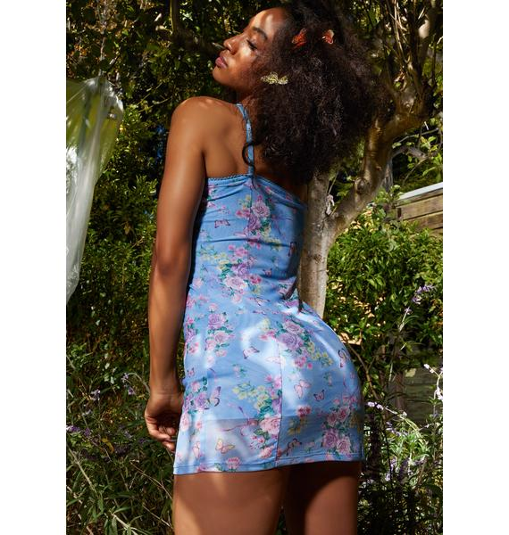 Sugar Thrillz Finding Eden Ruched Dress