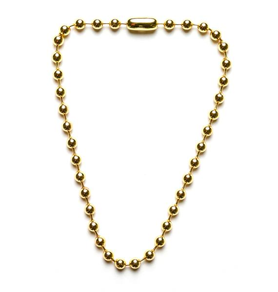 Cheap Monday Ballchain Necklace