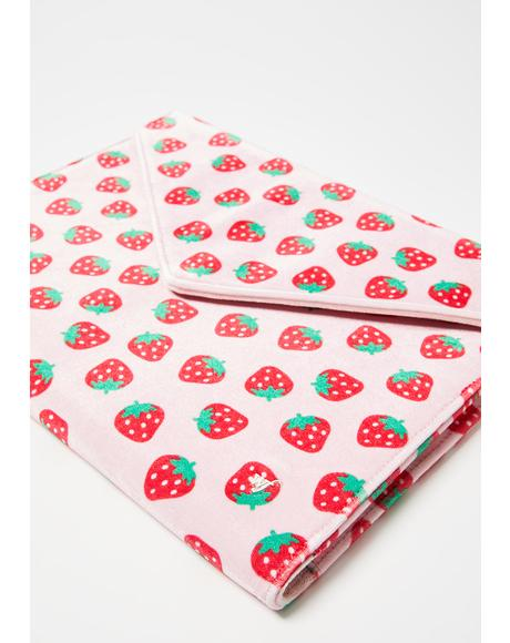Strawberry Clutch Laptop Bag
