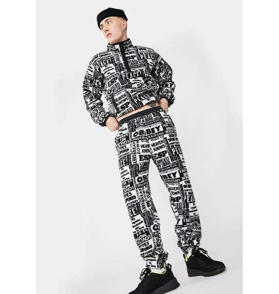Obey Easy Post Jogger Sweatpants