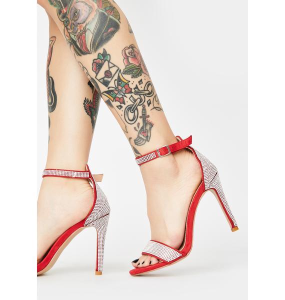 Ruby True Opulence Rhinestone Heels