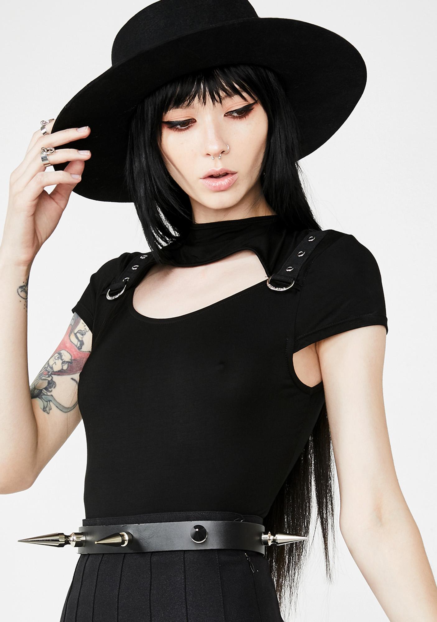 Killstar Xara Keyhole Top