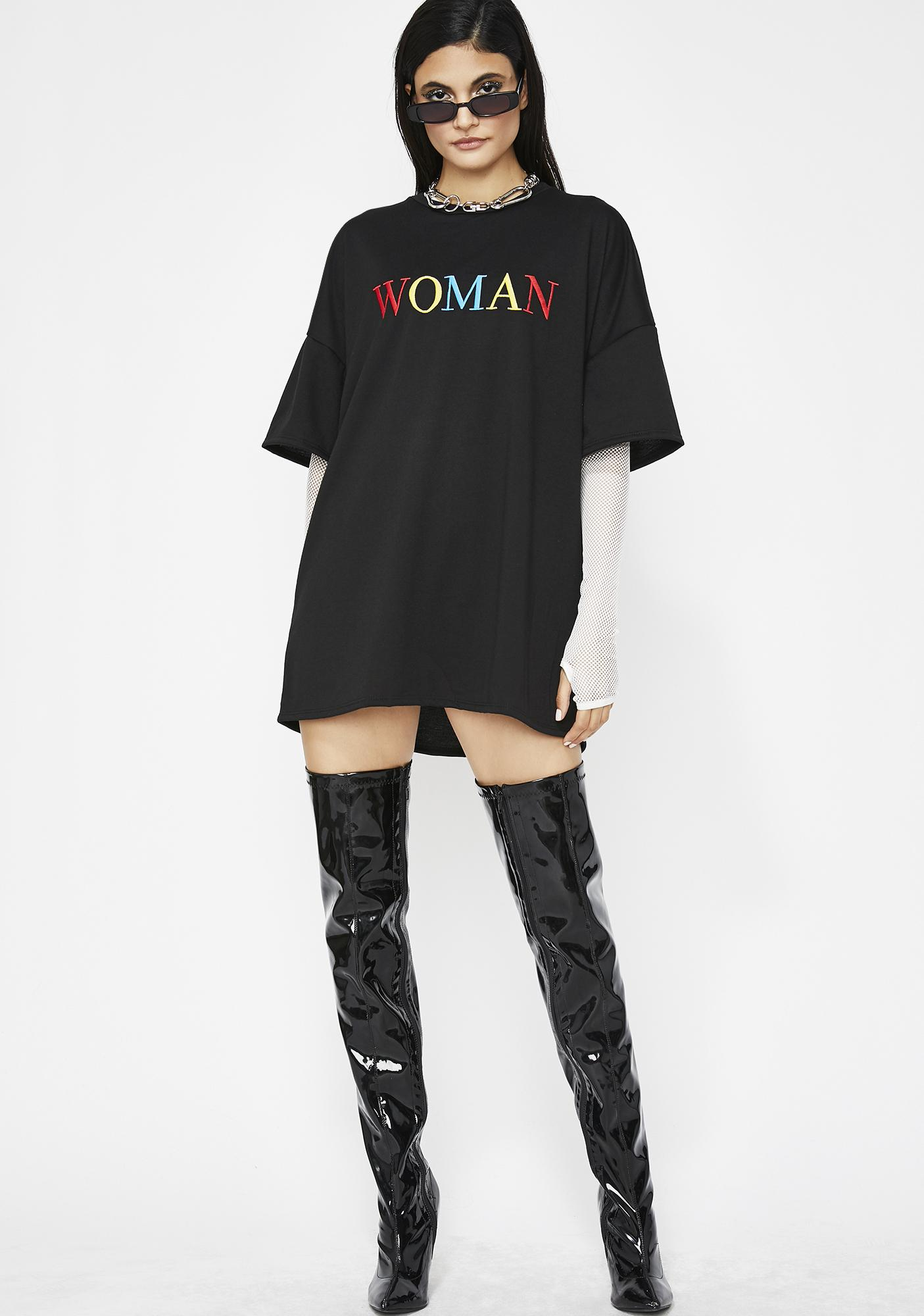 A Real Woman Oversize Tee