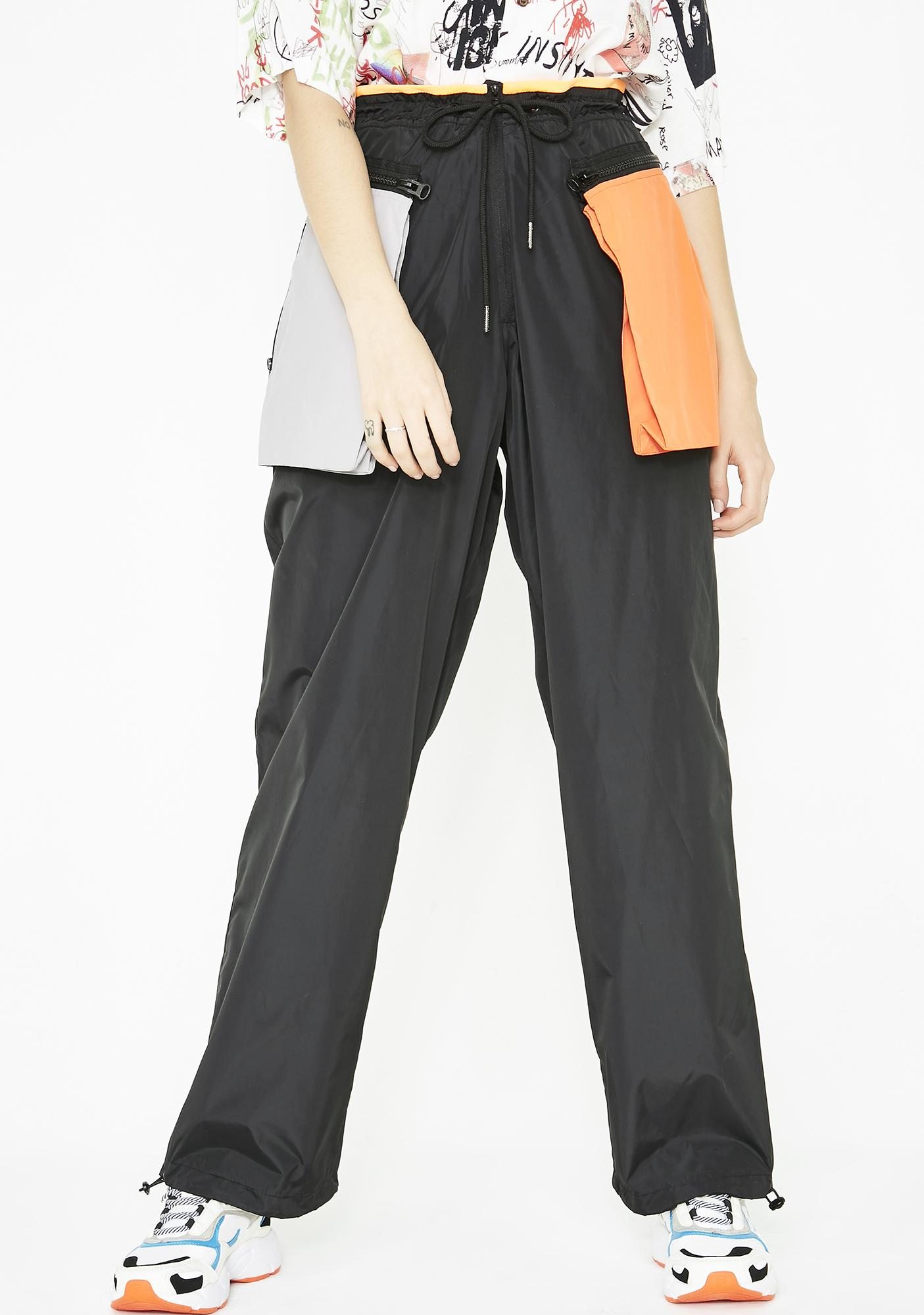bbd11d394f Inside Out Colorblock Track Pants | Dolls Kill