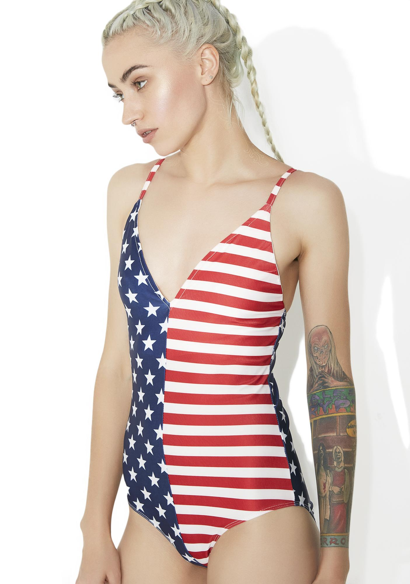 All American Gurl One Piece