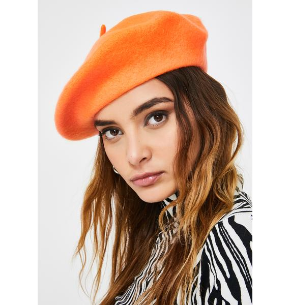 Fetch My Things Neon Beret