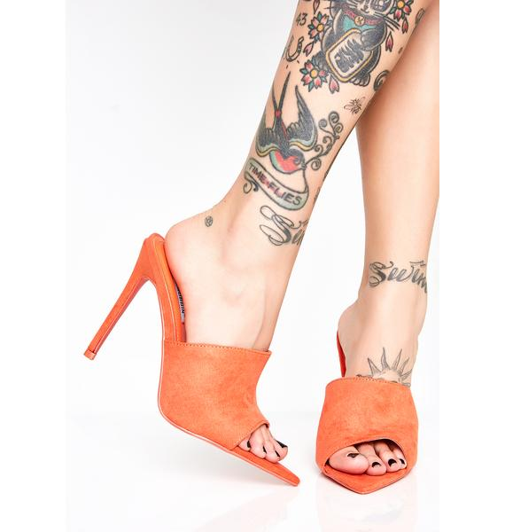 Juiced Time Flyer Stiletto Mules