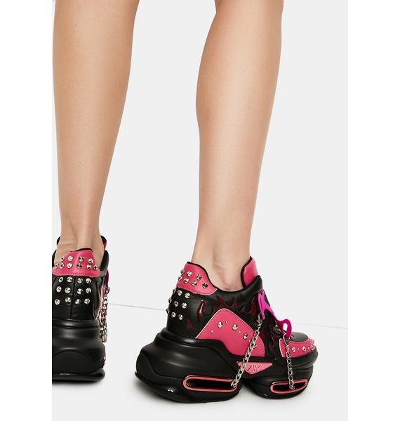 Candy Big Rush Chain Platform Sneakers
