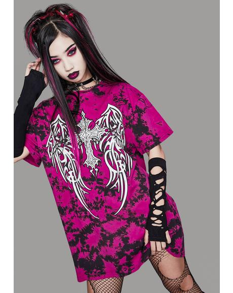 Gods And Monsters Tie Dye Graphic Tee