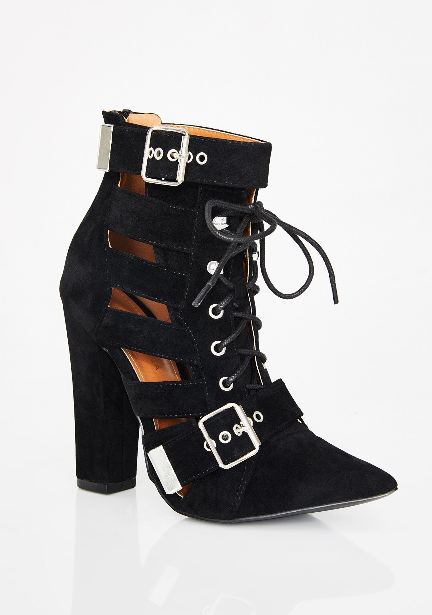 Sassy Samba Chunky Heels