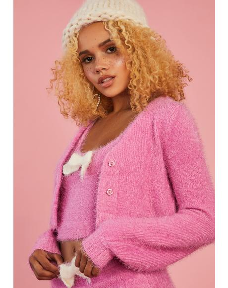 Serenity Calls Cropped Sweater Set