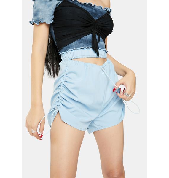 ZEMETA Moon Slit Shorts