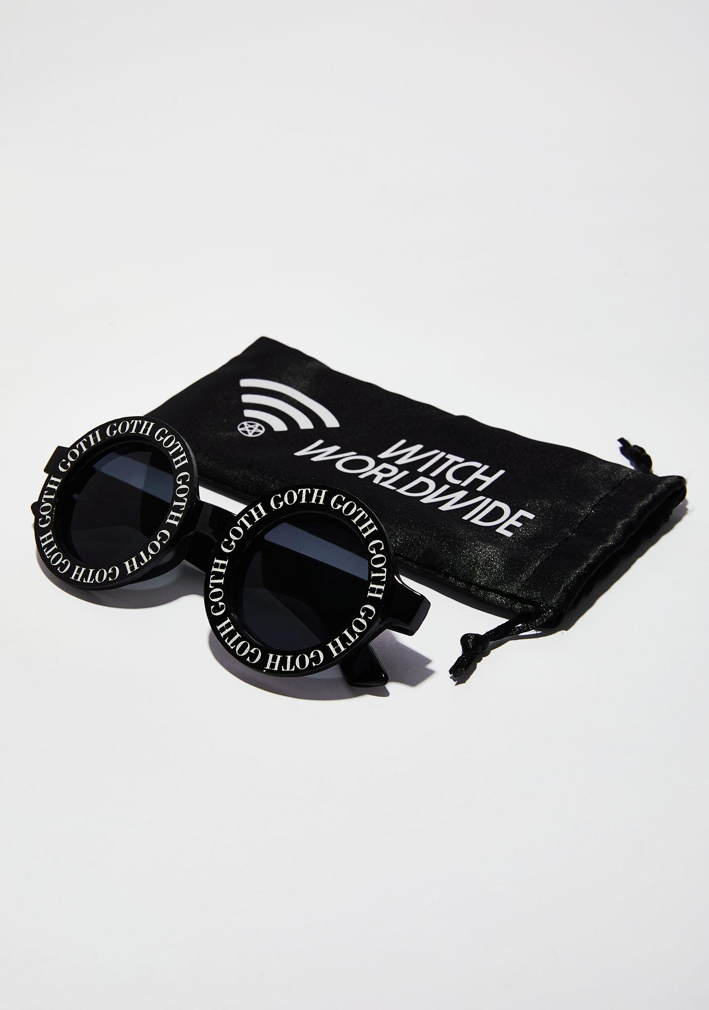 Witch Worldwide Goth Goth Sunglasses