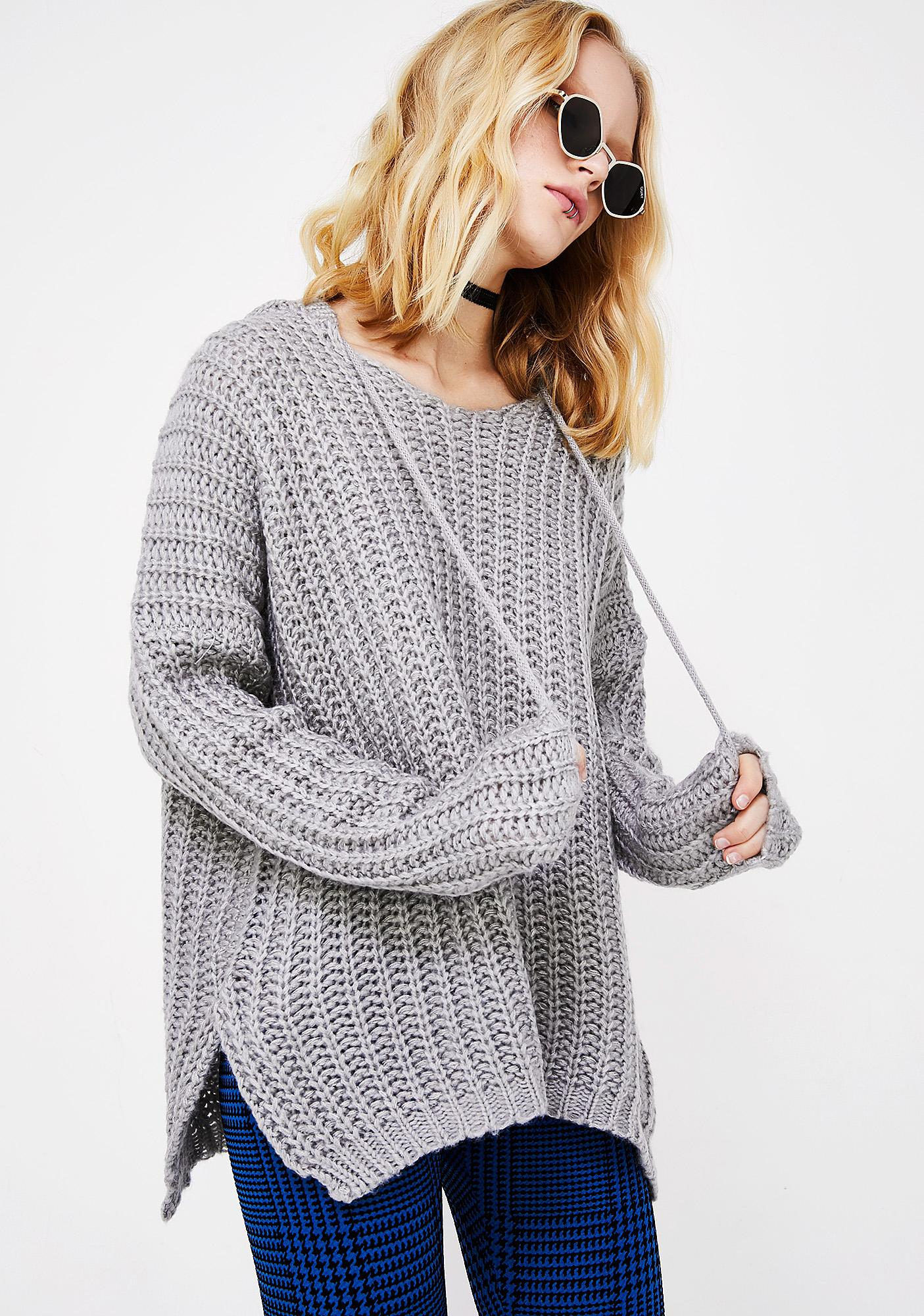 Guess Who Knit Sweater