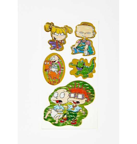 The Cobra Snake Rugrats Sticker Sheet Pack