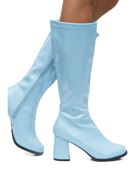 Sky Go-Go Baby Boots