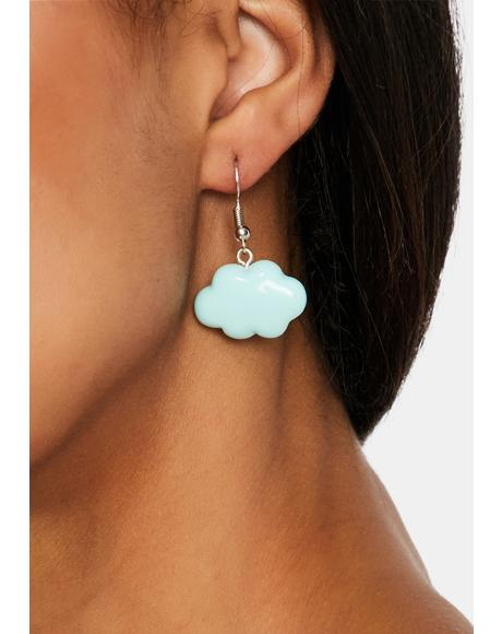 Chance Of Rain Drop Earrings