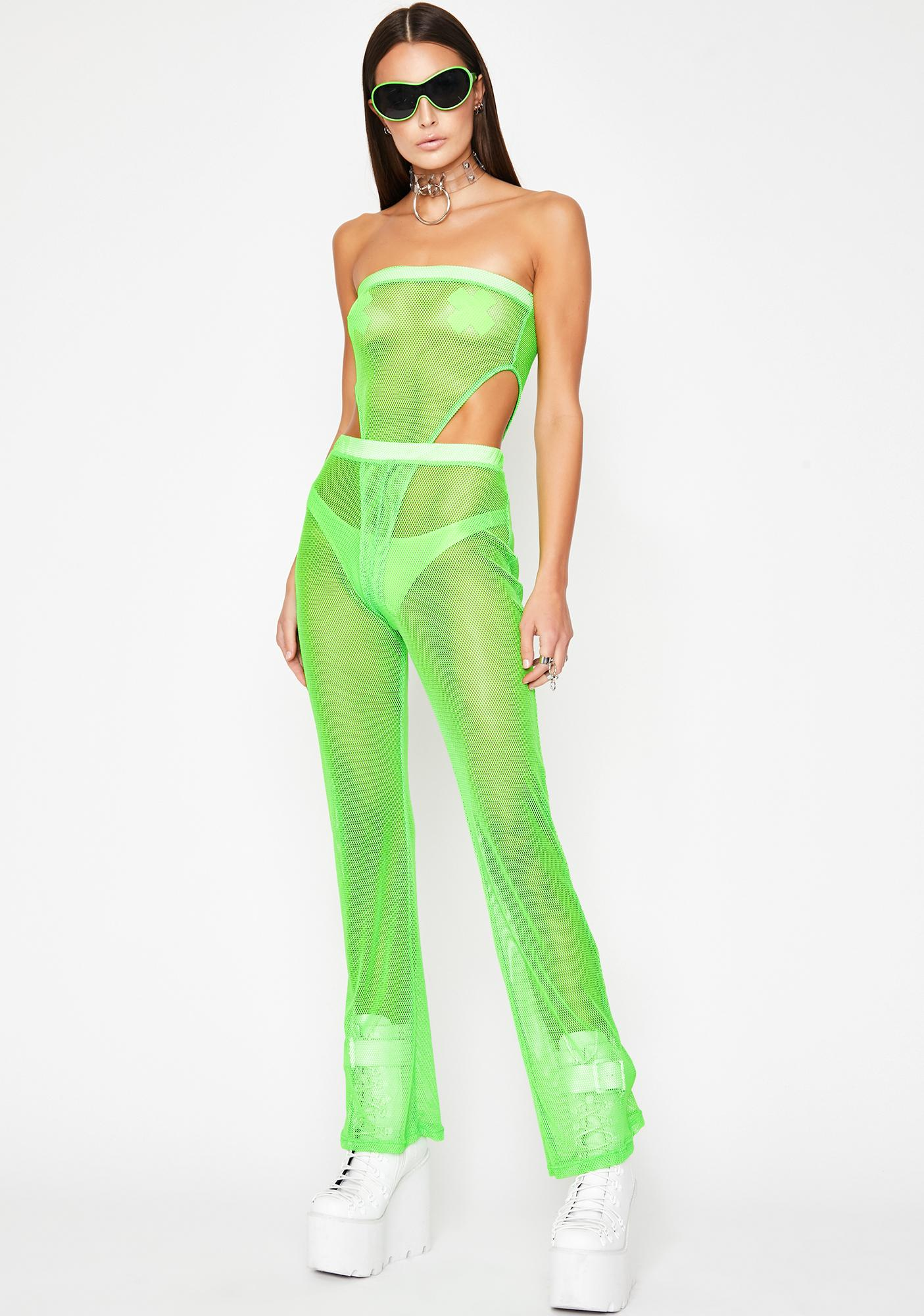 Slime Rated Naughty Mesh Bodysuit