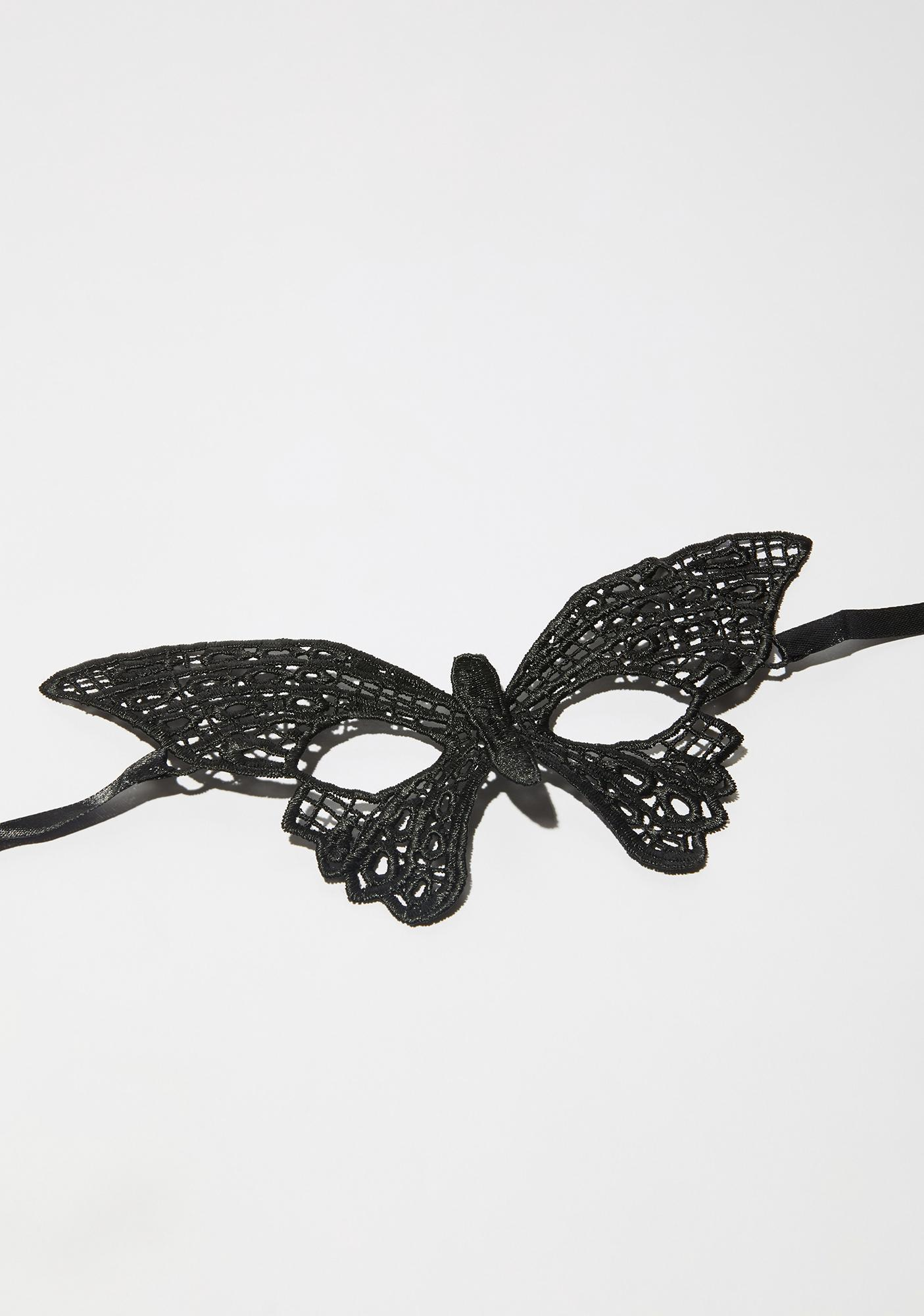 Beyond The Clouds Butterfly Mask