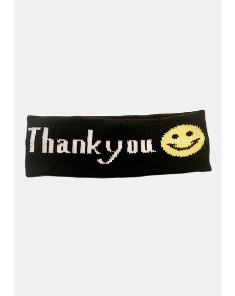 Make U Smile Shield Headband