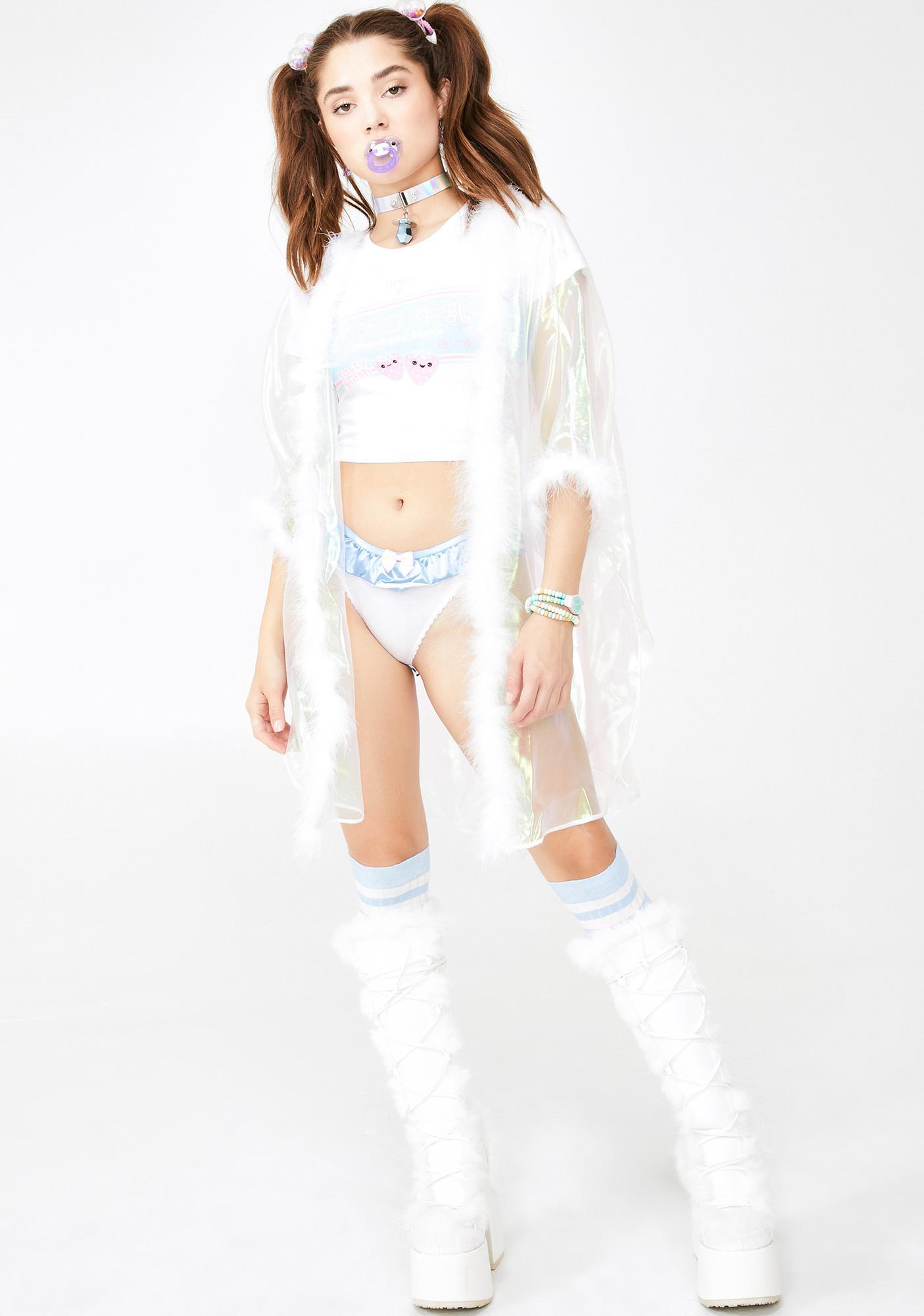 Sparkl Fairy Couture Angel Iridescent Fab Kimono