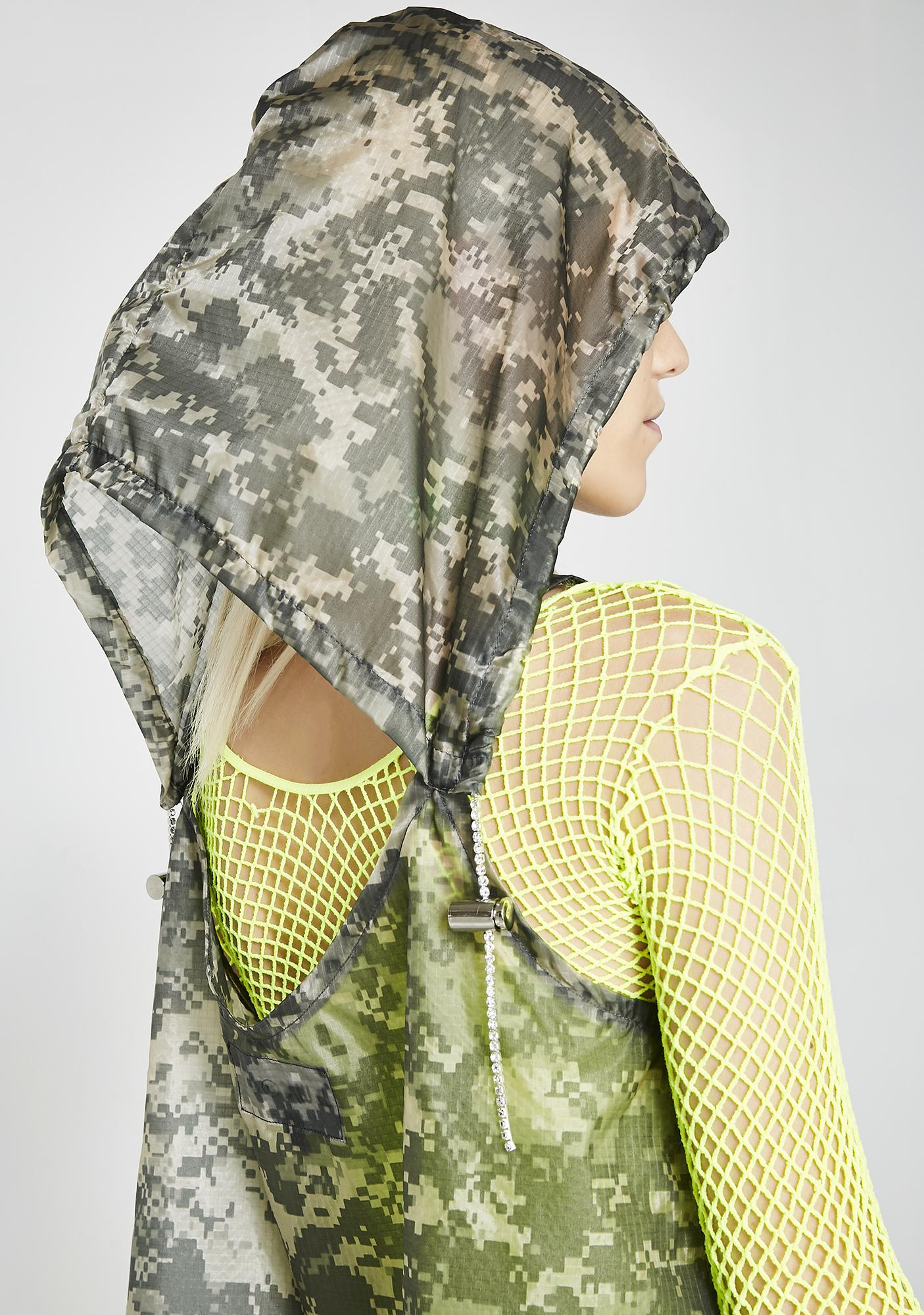 Whatever 21 Camo Hooded Slip