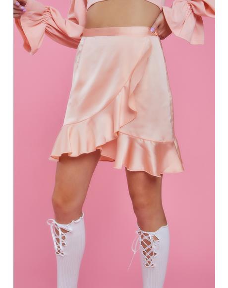 Love Language Ruffle Skirt