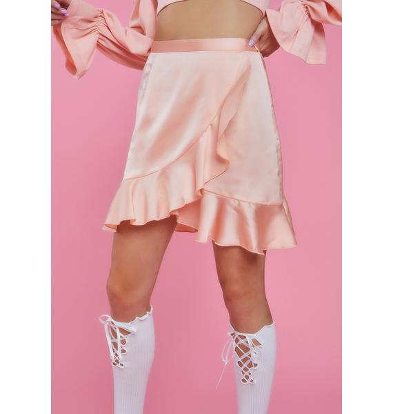 Sugar Thrillz Love Language Ruffle Skirt