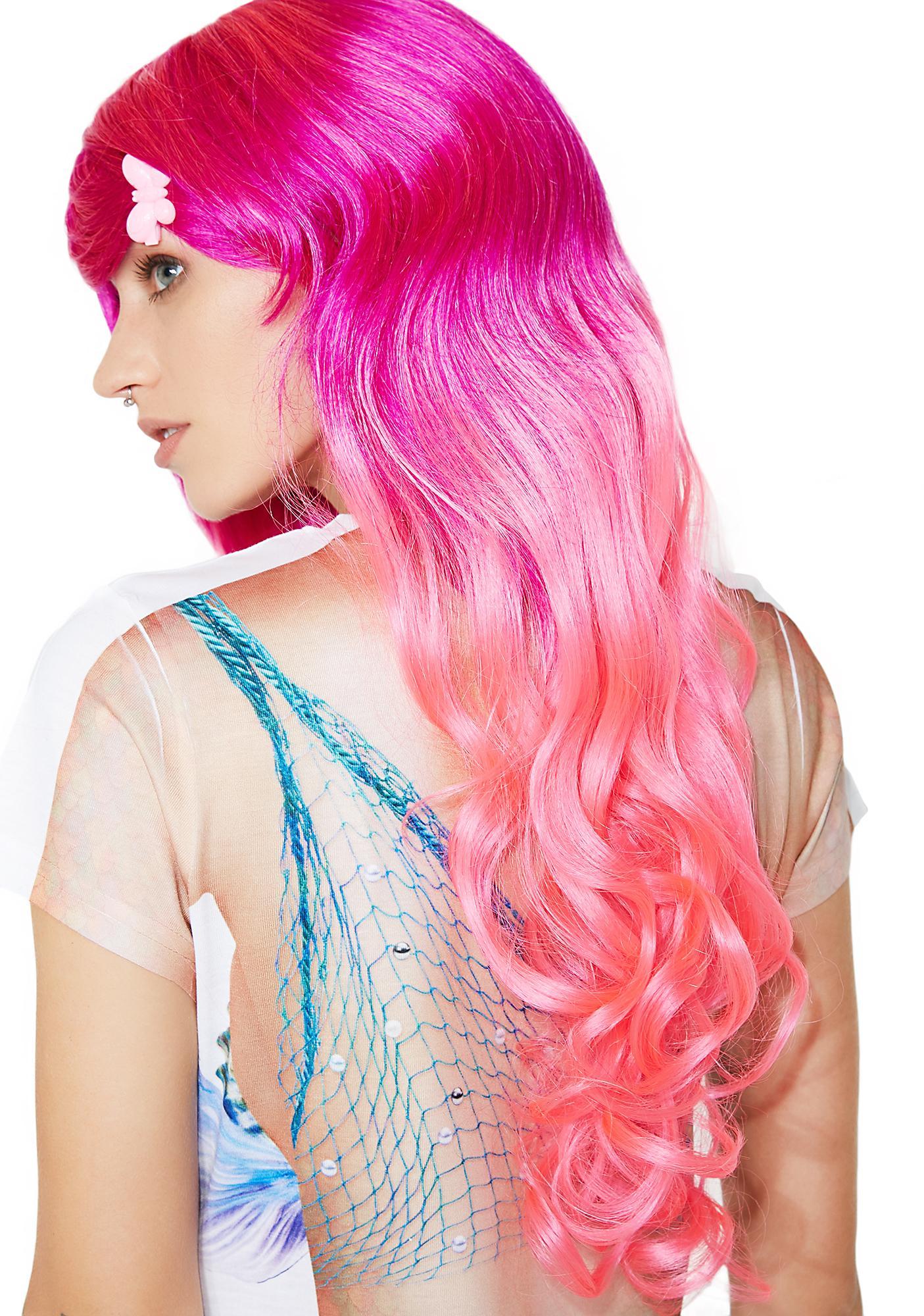 My Lil' Pony Ombre Wig