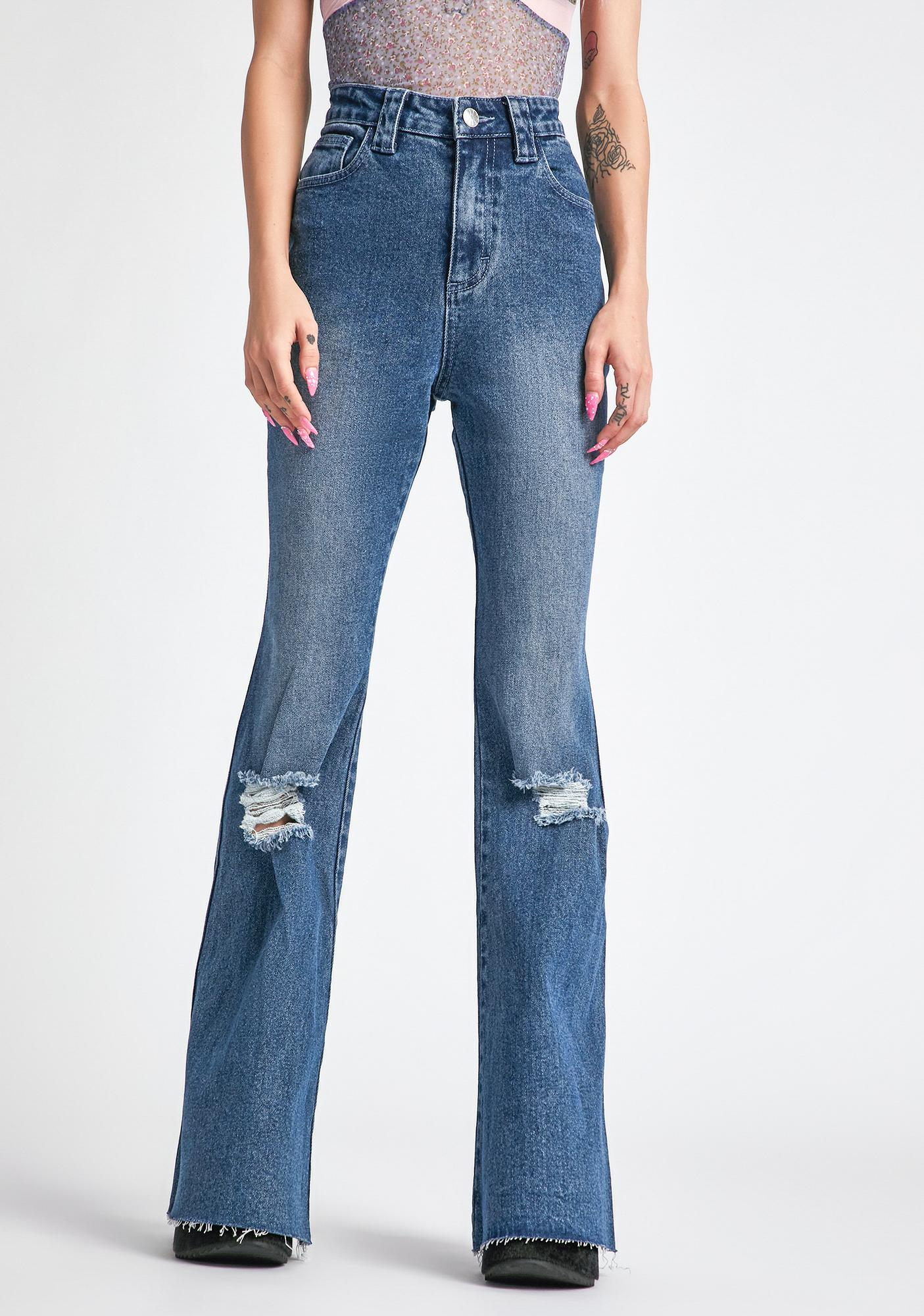 dELiA*s by Dolls Kill Little Miss Perfect Jeans