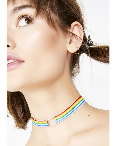 Love Trip Rainbow Choker
