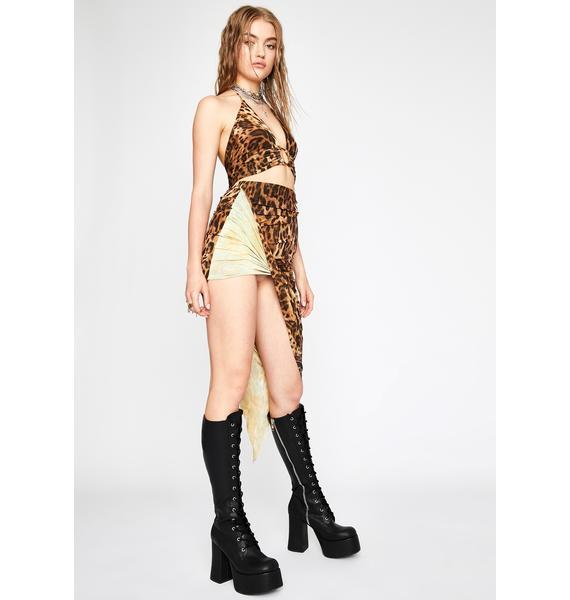 Kitty Spitfire Skirt Set