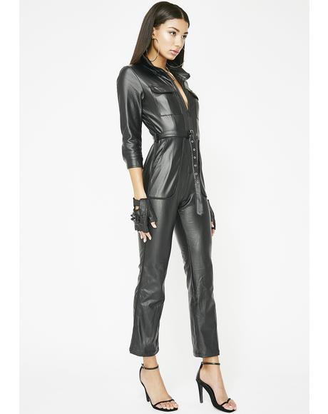 Bad Romance Utility Jumpsuit