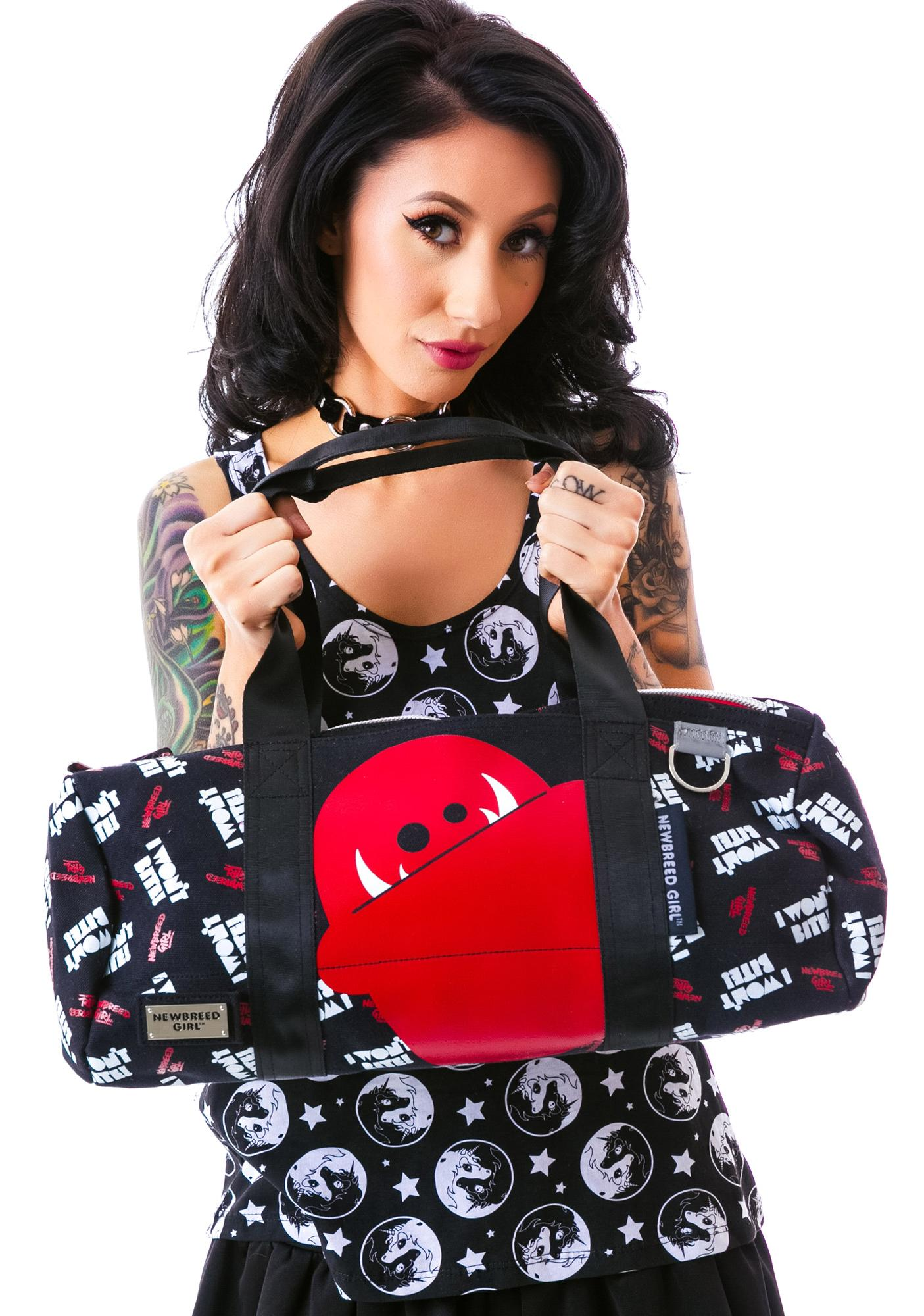 Bitey Monster Duffle Bag