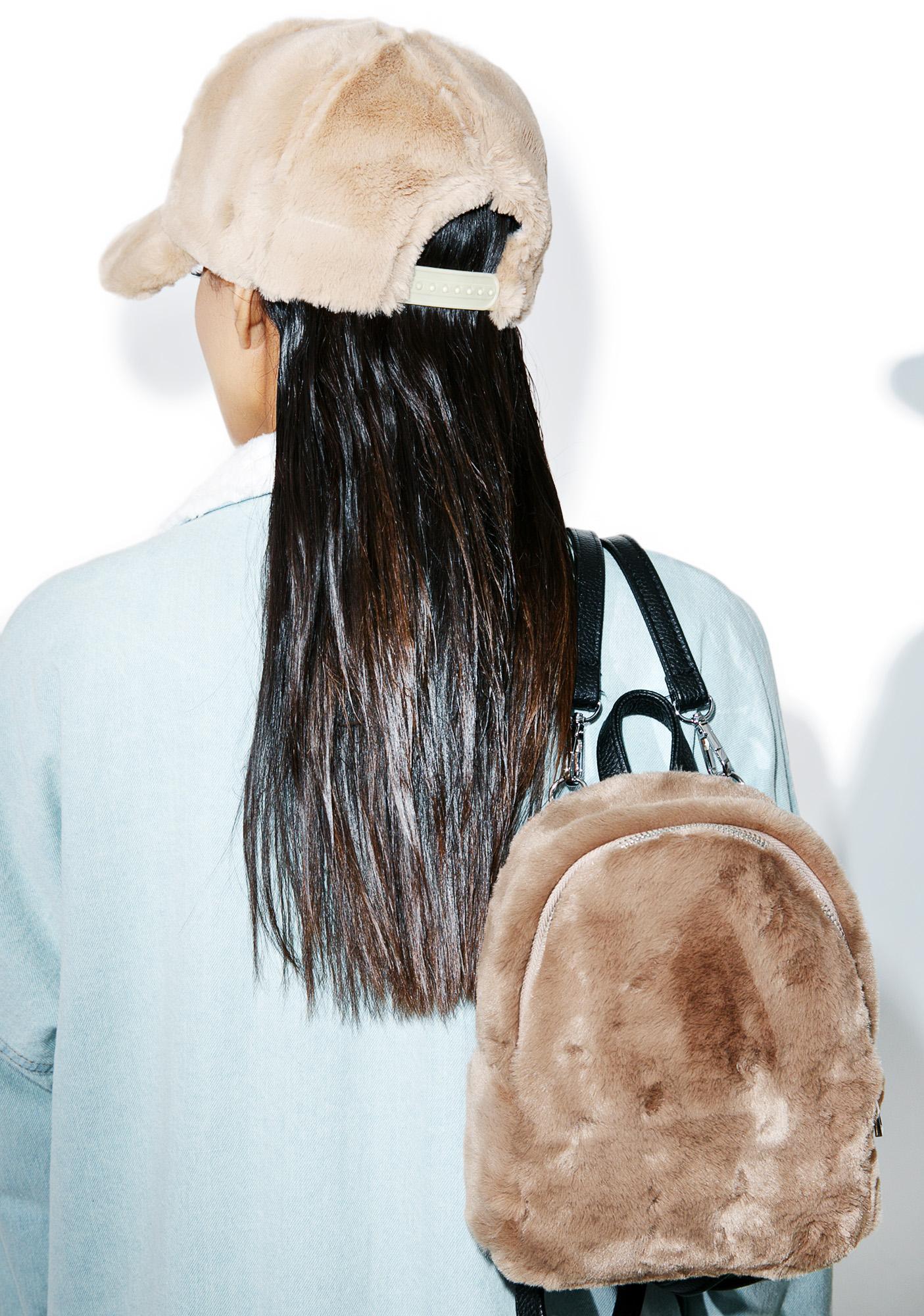 Soft Roar Fuzzy Hat