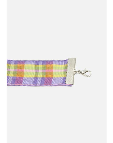 Mad About Plaid Choker