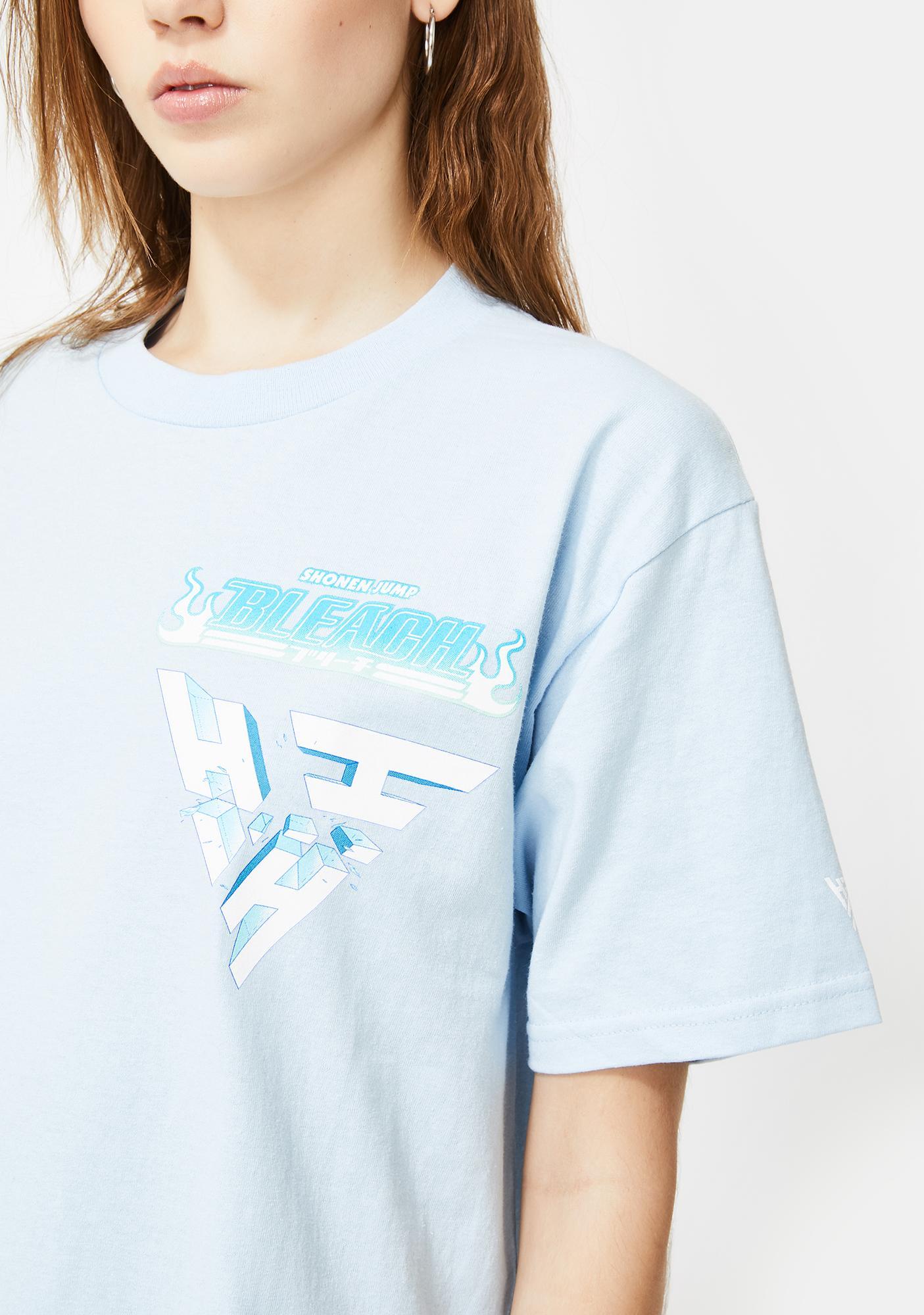 HYPLAND X Bleach Toshiro Breakthrough Graphic Tee