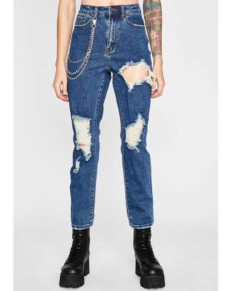Thrash Matter Distressed Jeans