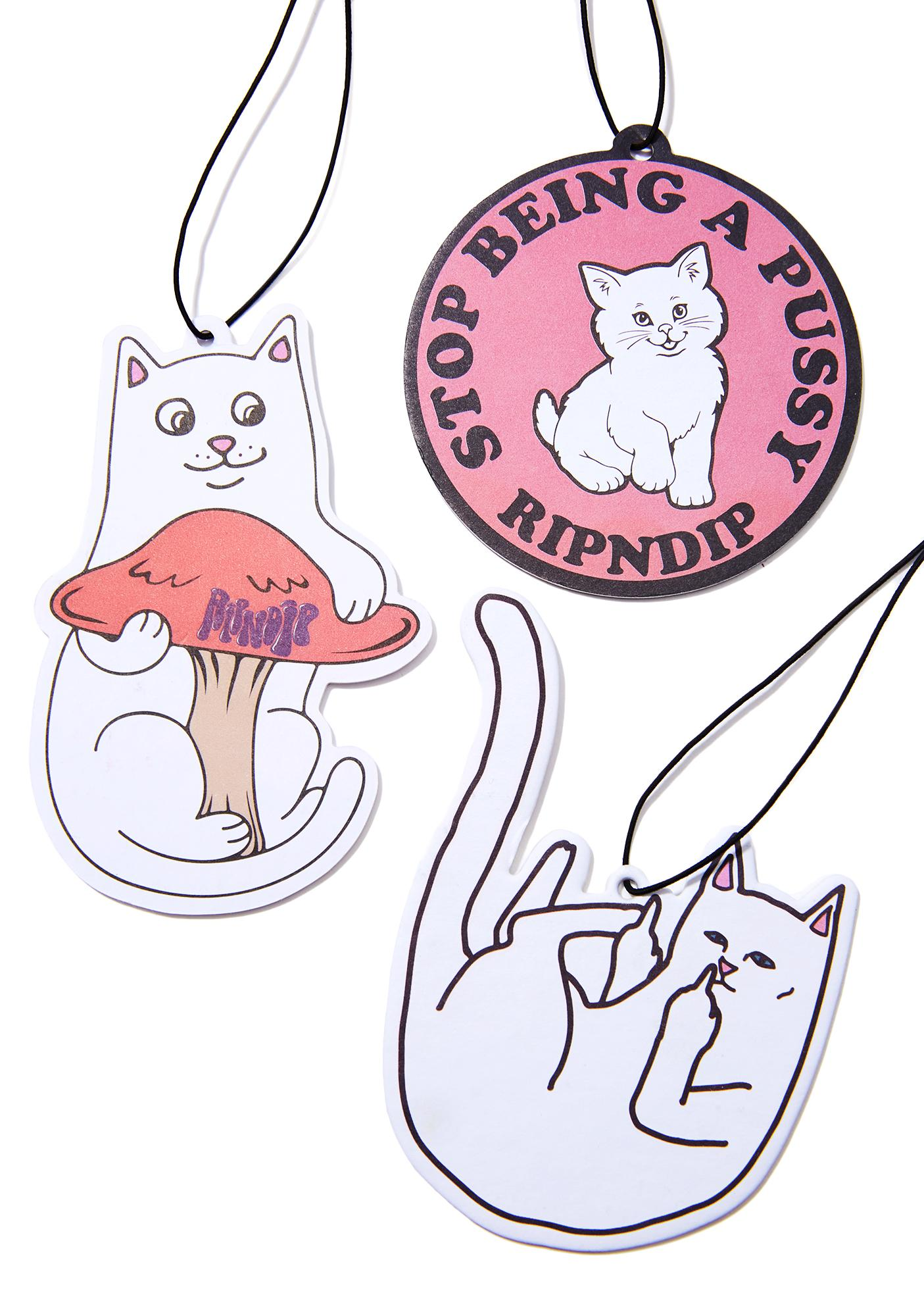 RIPNDIP Stop Being A Pussy Air Freshener