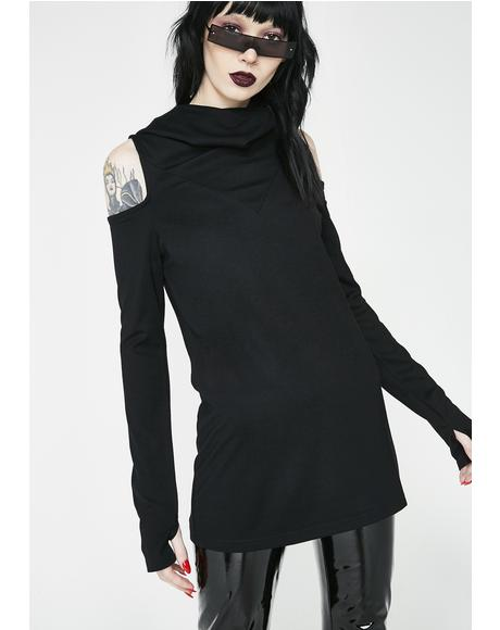 Bibliomancy Turtleneck Top