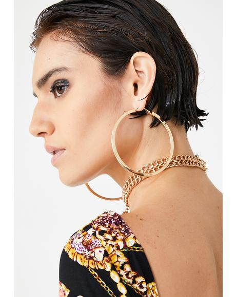 Let It Ring Hoop Earrings