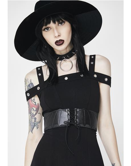 Bat Wings Corset Belt
