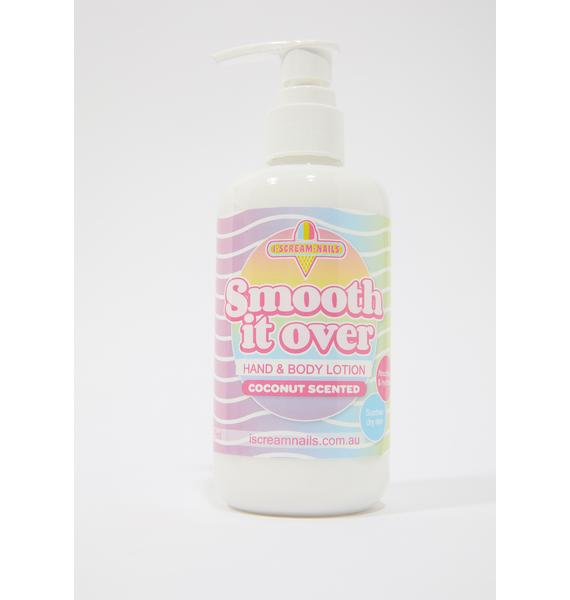 I Scream Nails Coconut Smooth It Over Hand & Body Lotion