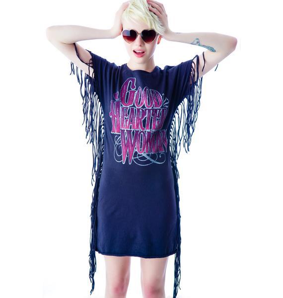 Good Hearted Woman Fringe Dress