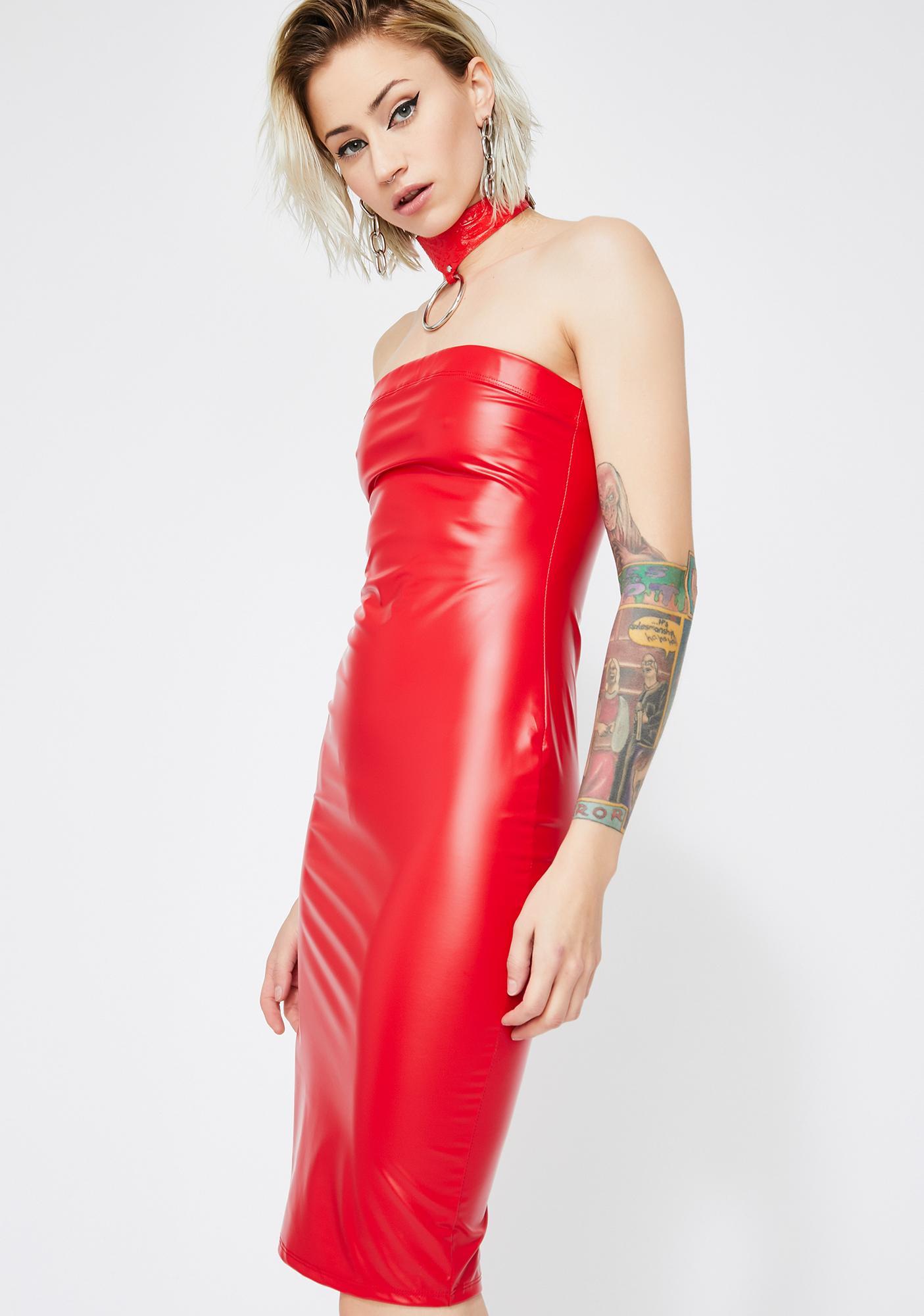 Hot Thirsty DM's Bodycon Dress