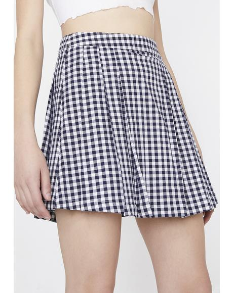 Gingham Frochickie Skirt